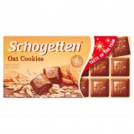 Schogetten Czekolada mleczna z kawałkami ciasteczek owsianych 100 g