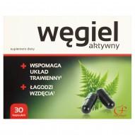 Colfarm Węgiel aktywny Suplement diety 9 g (30 kapsułek)