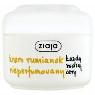 Ziaja Krem rumianek nieperfumowany każdy rodzaj cery 50 ml